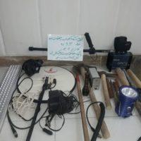 اعضای دو باند حفاریغیرمجاز در استان ایلام دستگیر شدند