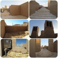 آب انبار محله آبشور یزد مرمت شد