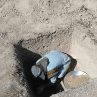 کشف قطعه سفالی احتمالا متعلق به دوران پیش از تاریخ در تهران