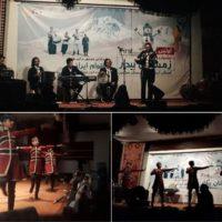 استقبال پرشور از آیین قوم بختیاری در جشنواره زمستان بیدار سرعین