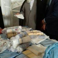 نمایشگاه صنایع دستی بانوان و اقتصاد مقاومتی در شهرستان خلیل آباد برگزار شد