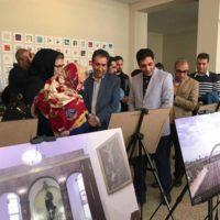 افتتاح دومین نمایشگاه عکس گردشگری تهران در موزه ملی ایران