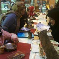 نمایشگاه آثار هنرمندان معلول استان مرکزی در سازمان میراث فرهنگی برگزار شد