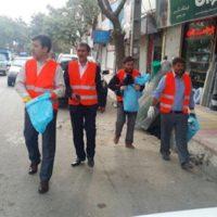 پاکسازی شهرستان خلخال با کمک همه آحاد مردم