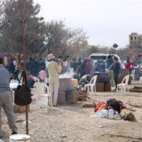 جشنواره سمنو پزان در بجنورد برگزار شد