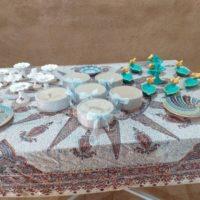 راه اندازی نمایشگاه و بازارچه فروش محصولات صنایع دستی ویژه هفت سین در شهرستان بافق