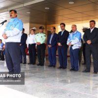 مانور و همایش بزرگ ستاد خدمات سفرهای نوروزی خوزستان برگزار شد