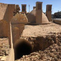 تخریب برخی بناهای تاریخی یزد با بارشهای اخیر