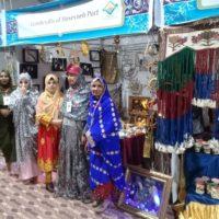 مشارکت صنعتگران و هنرمندان صنایع دستی هرمزگان در نمایشگاه بین المللی عمان