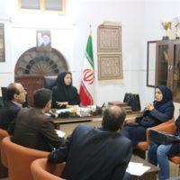 جلسه کمیته فنی صنایع دستی اداره کل میراث فرهنگی بوشهر برگزار شد