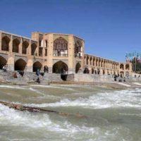 قدردانی فعالان گردشگری اصفهان از  دکتر مونسان برای جاری شدن زایندهرود در نوروز ۹۸