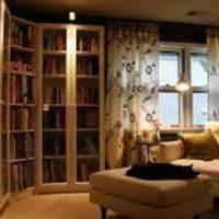 وقتی جای کتاب در مبلمان خانه خالی است