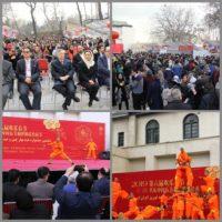 ششمین جشنواره عید بهار چین در مجموعه نیاوران افتتاح شد