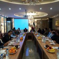جلسه هم اندیشی مدیرکل میراثفرهنگی هرمزگان و جامعه هتلداران استان برگزار شد