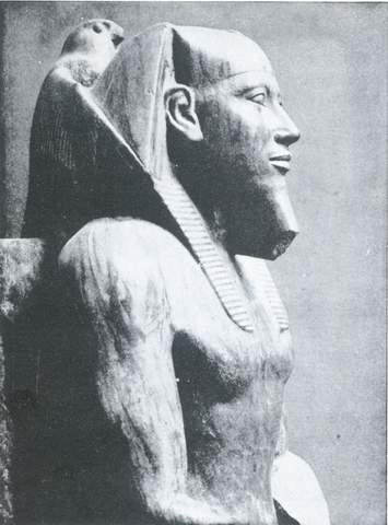 سر فرعون خفرع در موزه قاهره - مصر باستان