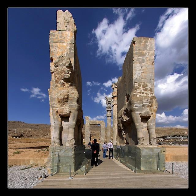 عکس های تخت جمشید (پارسه)- هخامنشیان - ایران باستان - 11