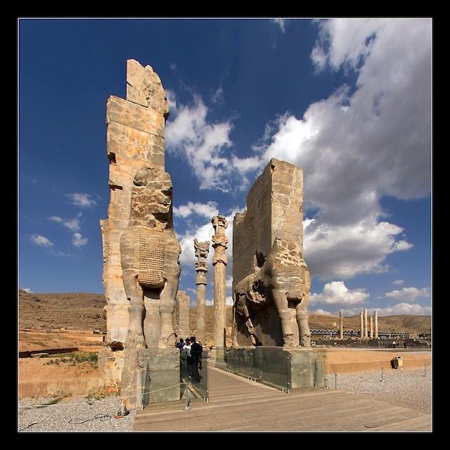 عکس های تخت جمشید (پارسه)- هخامنشیان - ایران باستان -12