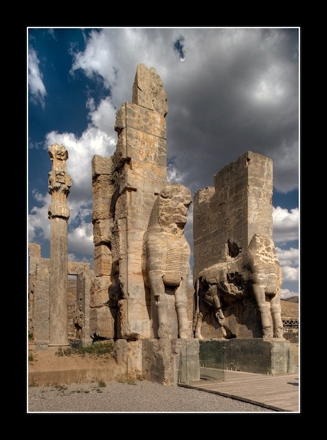 عکس های تخت جمشید (پارسه)- هخامنشیان - ایران باستان - 13