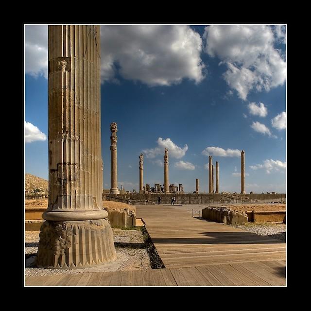 عکس های تخت جمشید (پارسه)- هخامنشیان - ایران باستان - 15
