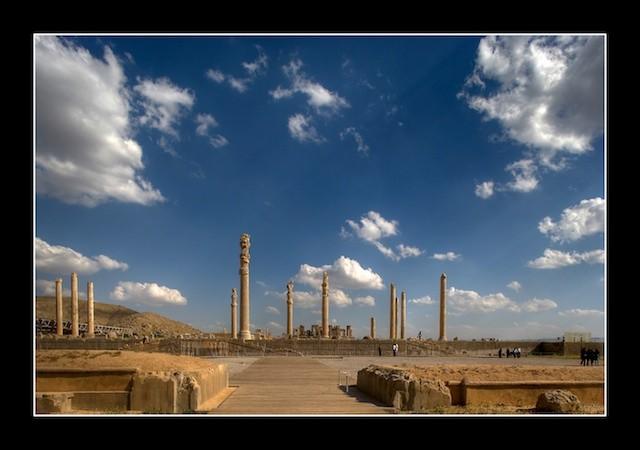 عکس های تخت جمشید (پارسه)(پارسه)- هخامنشیان - ایران باستان - 20