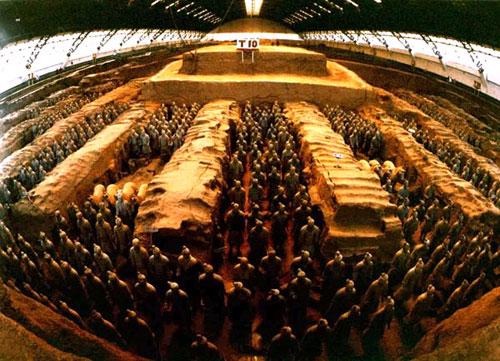 ارتش سفالی چین باستان