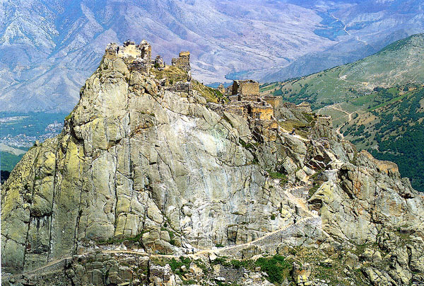 قلعه بابک خرم دین  - دورنما