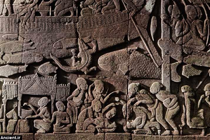 عکس های باشکوه معبد آنگکور - تمدن خمرها