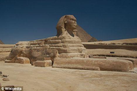 رمز و راز مجسمه ابوالهول