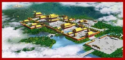 معماری ساختمان های باستانی چین