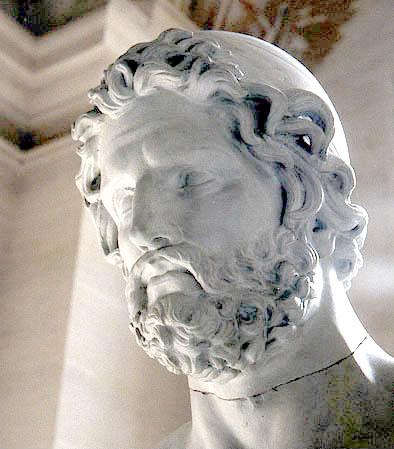 مجسمه ادیسئوس قهرمان اصلی داستان ادیسه